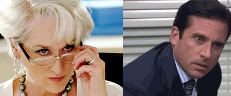 Bosses with personalities: Miranda Priestly and Michael Scott