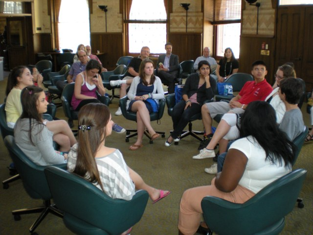 Students from the 2011 session of Drexel's Summer Academy in Behavioral Health Counseling discuss what they have learned.