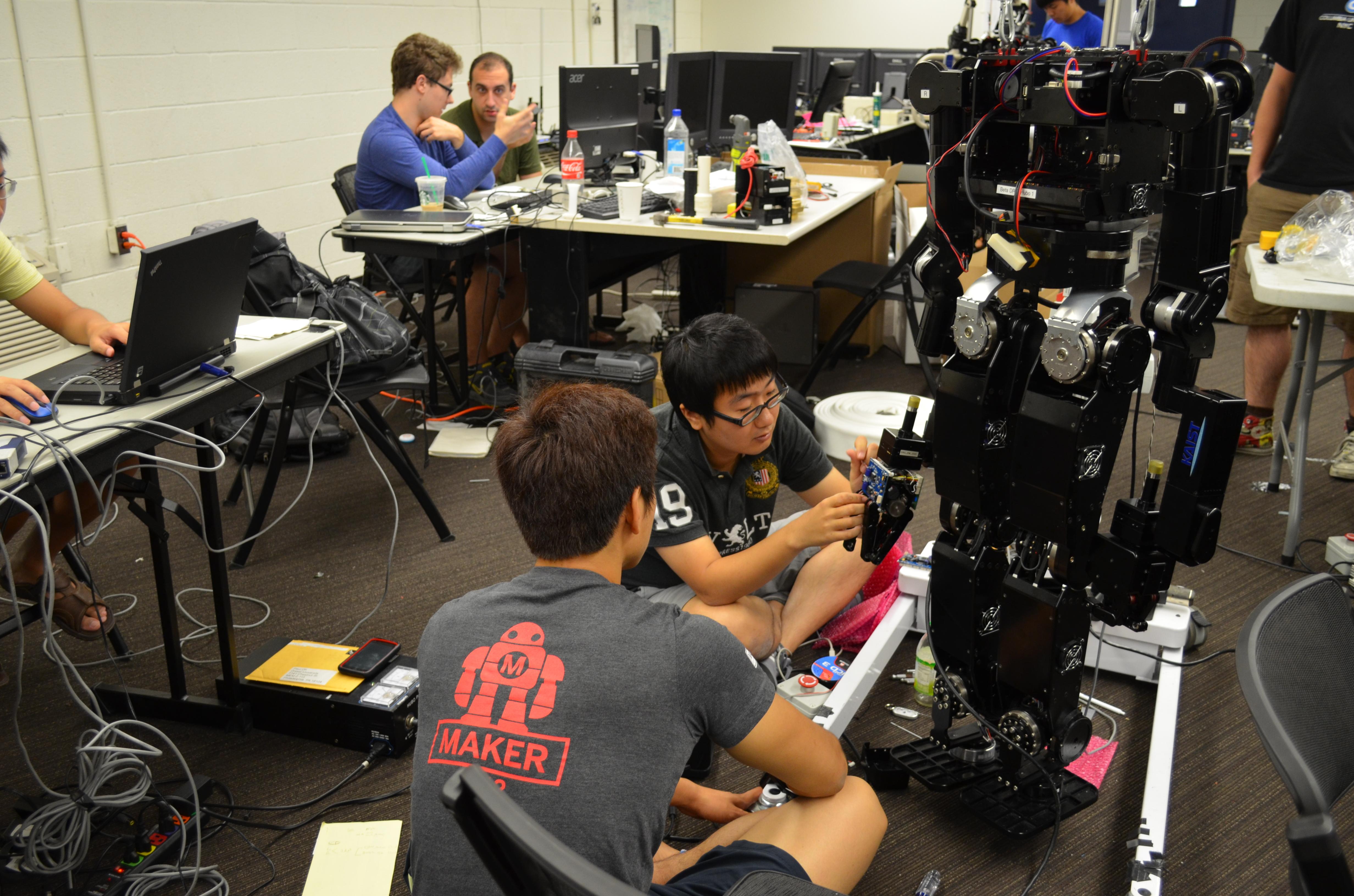 a robot training to save lives drexel news blog
