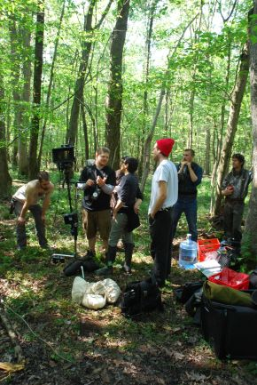 Going Camping…On a Movie Set? Cast and Crew of Drexel Prof's New Movie Found Out What It's Like