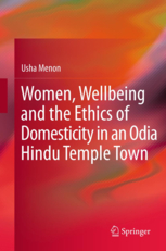 Menon's most recent book was published by Springer in March 2013