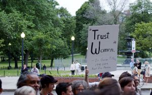 A candlelight vigil in Boston for George Tiller, an abortion doctor who was murdered on May 31 five years ago.