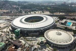 Maracana Stadium in Rio de Janeiro, Brazil.