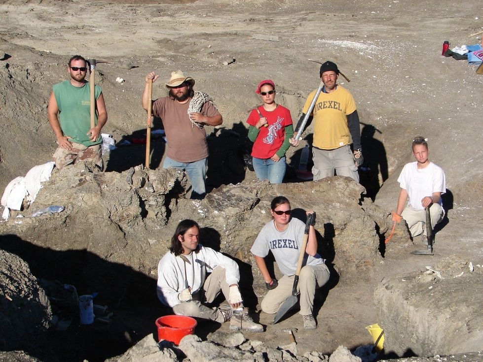 Left to right: Jason Poole, Christopher Coughenour, Alison Moyer, Kenneth Lacovara, Lucio Ibiricu, Jason Schein, Yanko Kamerbeek