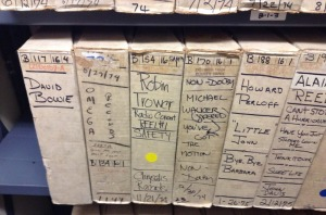 "Drexel's official ""Reel 4"" tape from Bowie's Sigma Sound Studios sessions."