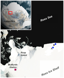 McMurdo map