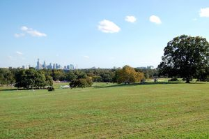 Belmont Plateau in Fairmount Park