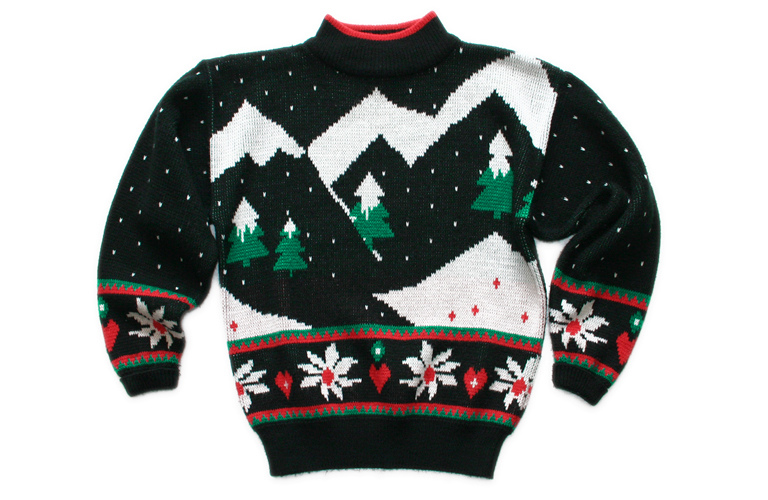 The ugly Christmas sweater has successfully transitioned from tacky to trendy, according to Hancock.