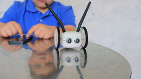 Learning to Code…From a Tiny Robot Teacher