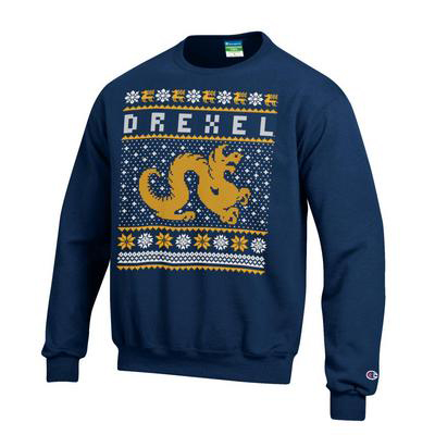 Even Drexel got in on the ugly sweater trend this year