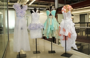 Drexel Snapshot: Dresses From…Diapers?