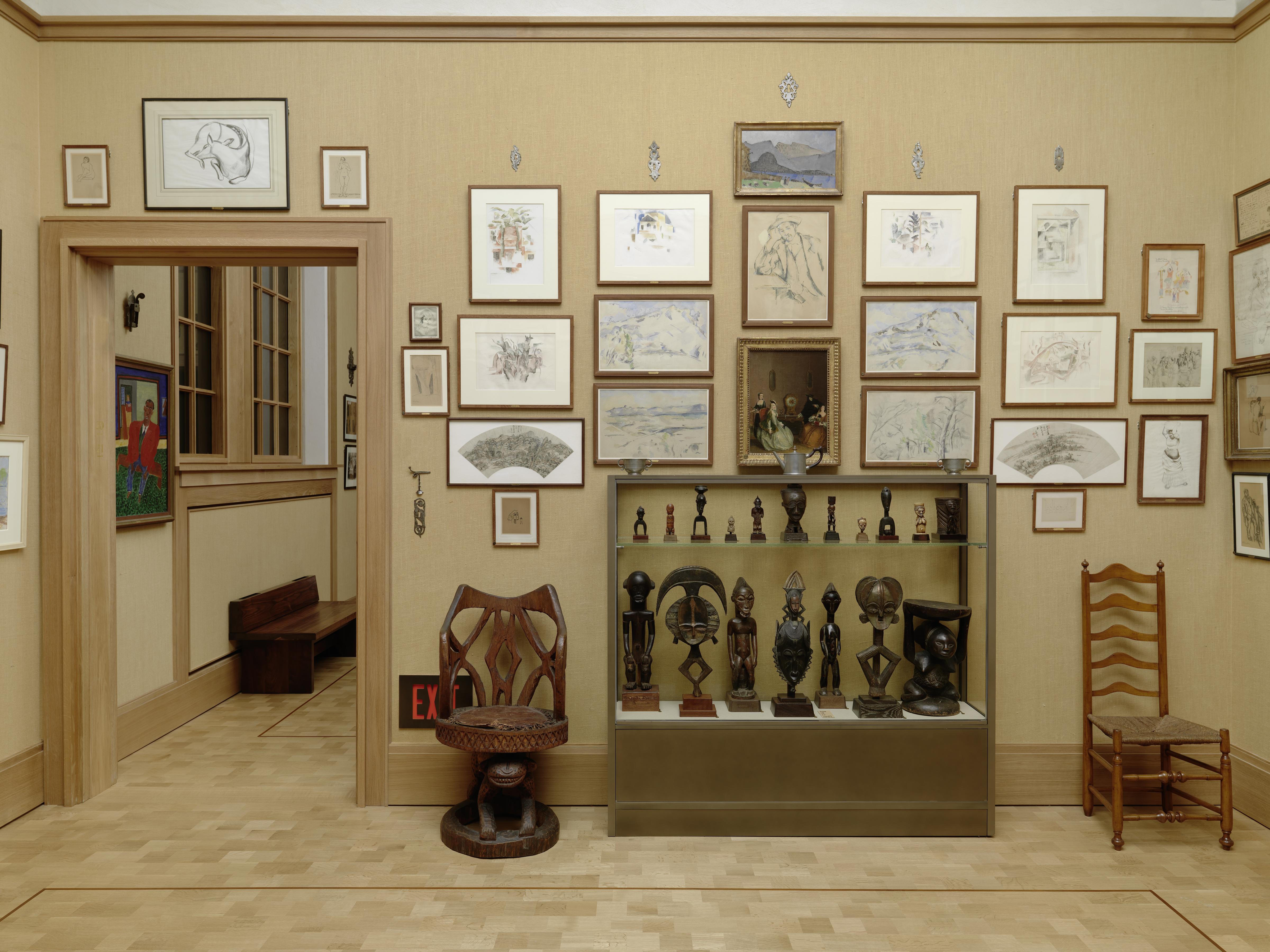 Hidden Cezanne Sketches Found At The Barnes Foundation Drexel