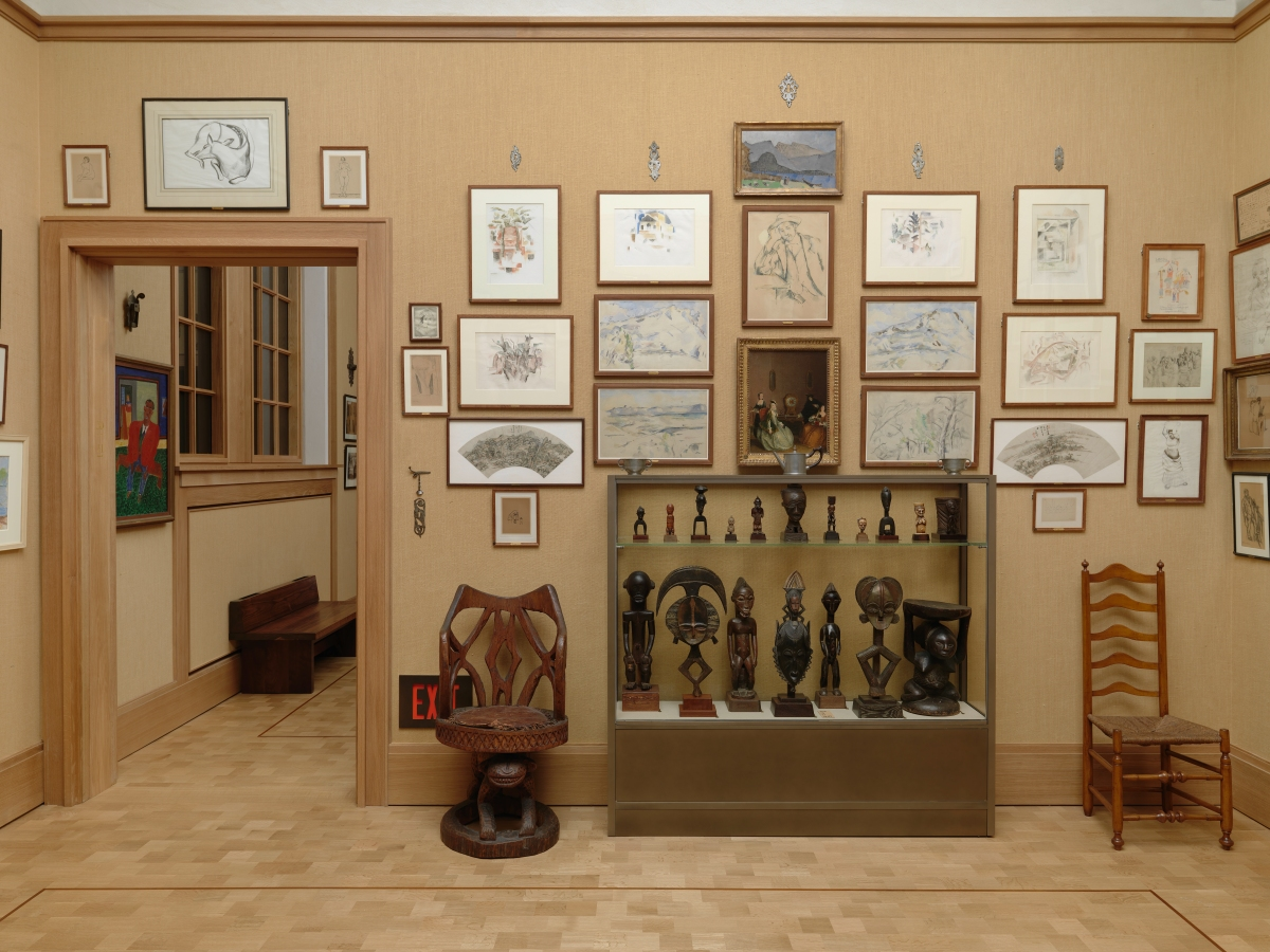 Hidden C 233 Zanne Sketches Found At The Barnes Foundation