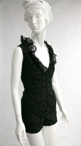 Romper in the Fox Historic Costume Collection, Saks Fifth Avenue, circa 1970.
