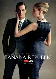 Banana Republic's Mad Men-themed line i sjust one example of the show's influence on popular culture.