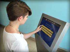 Drexel Snapshot: New Mental Health Screening Kiosk in University Recreation Center
