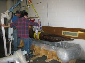Drexel Snapshot: Giant, Underwater Spear From Revolutionary War to be Recreated in Drexel Lab