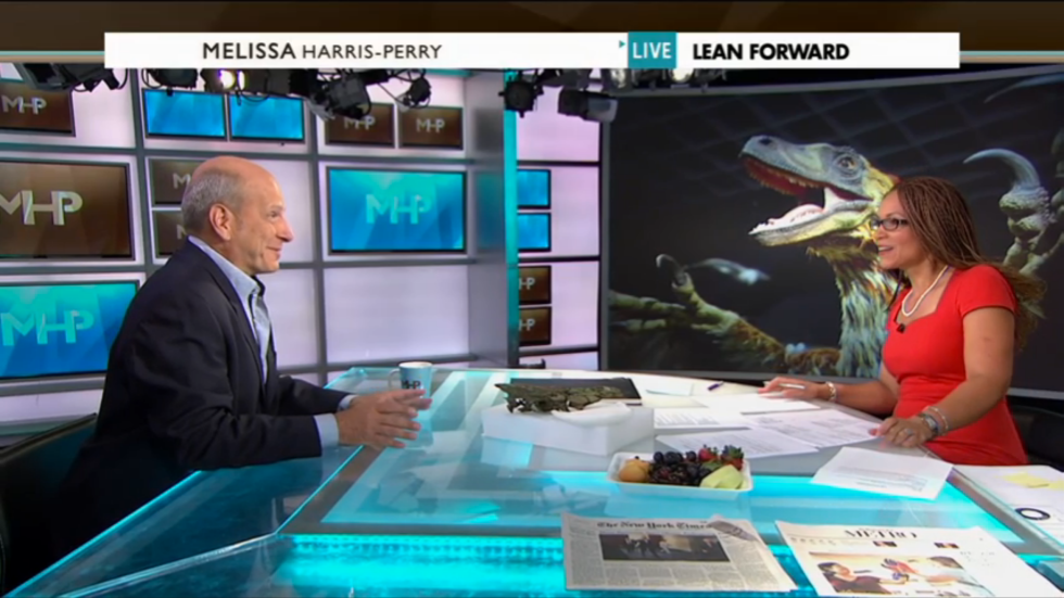 "Kenneth Lacovara with Melissa Harris-Perry on ""The Melissa Harris-Perry Show"""