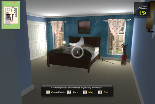 Virtual Reality Brings Students To The Crime Scene