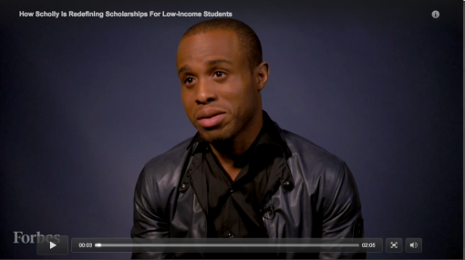 Christopher Gray during Forbes interview