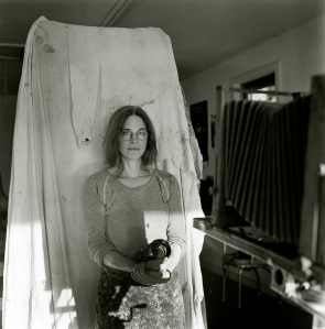 Photographer Sally Mann by Harvey Wang, 2012.
