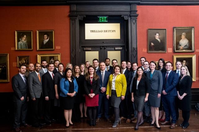 the Vanguard MBA graduates