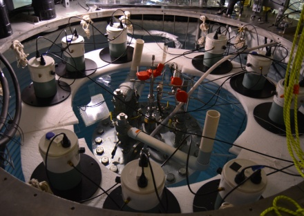 A room full of equipment.