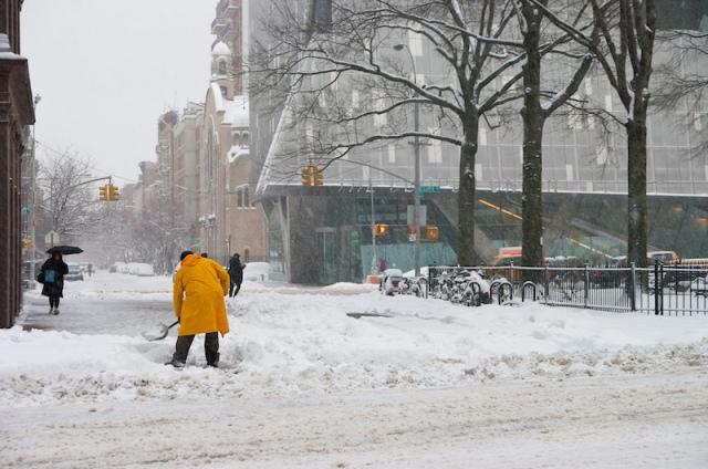 snow-shoveling