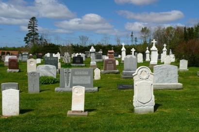 A cemetery