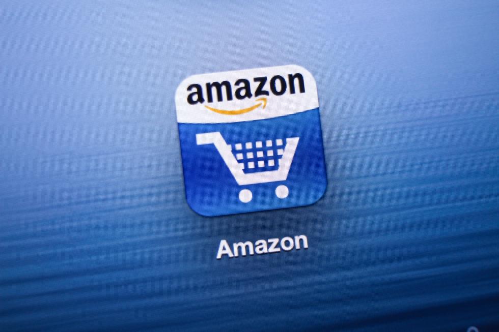 Amazon App icon on New iPad