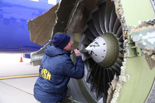 Southwest Flight 1380 engine