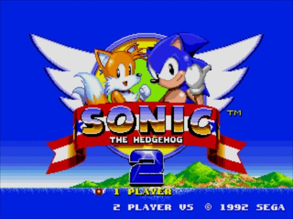 sonic video game